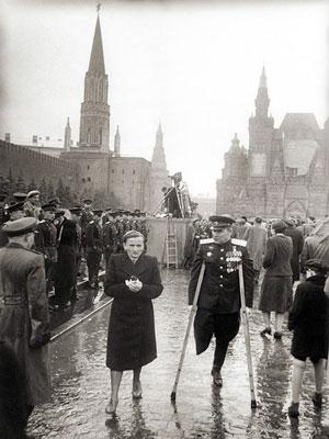 Парад Победы на Красной площади 24.06.1945