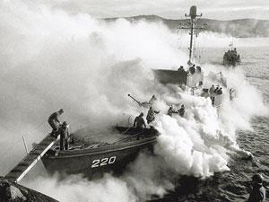 Высадка десанта морской пехоты. Северный флот