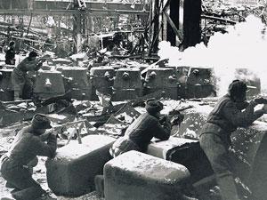Сталинград. Бой в цехах завода «Красный Октябрь»